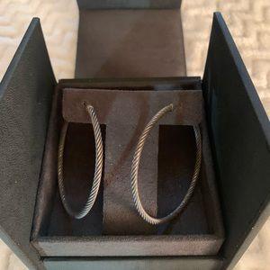 David Yurman Jewelry - David Yurman Hoop Earings